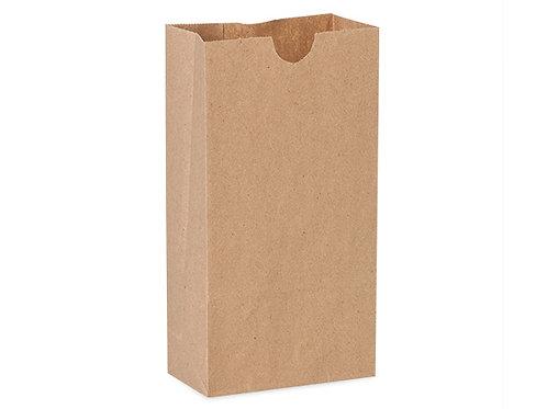 Bolsa papel kraft sencilla 35 x 18 x 11cms - 100 unidades