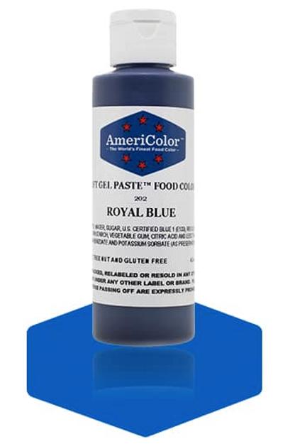 Colorante en gel suave royal blue 4.5onz