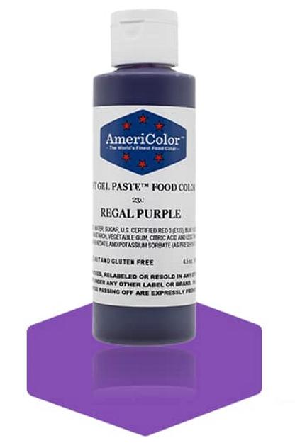 Colorante en gel suave regal purple 4.5onz