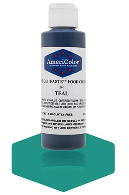 Colorante en gel suave teal 4.5onz