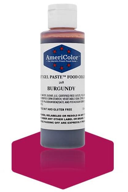 Colorante en gel suave burgundy 4.5onz