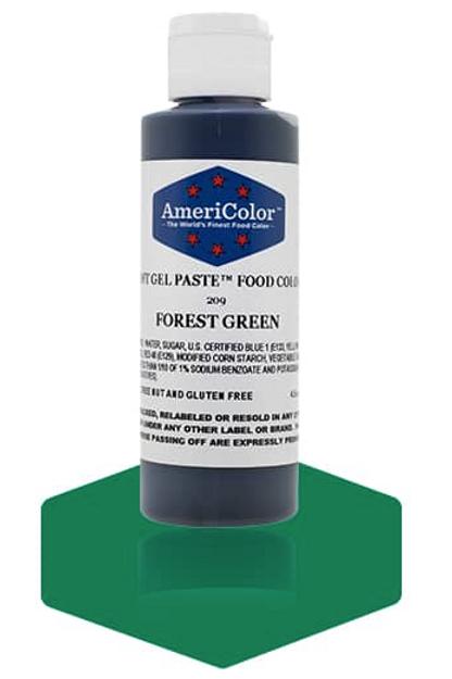 Colorante en gel suave forest green 4.5onz