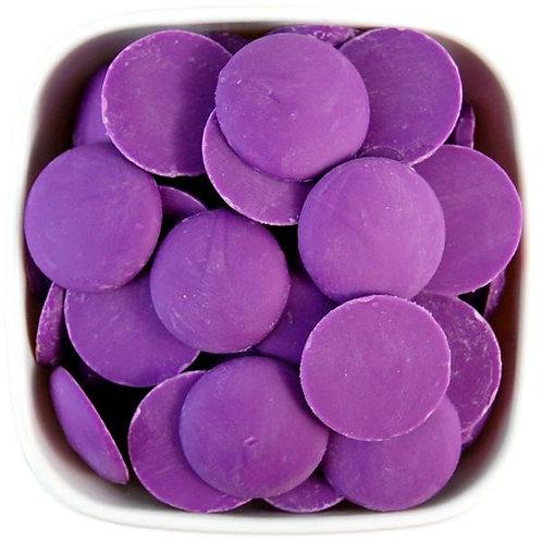 Cobertura morada (candy melt)