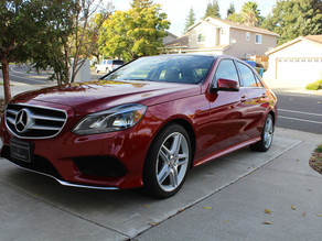 Paint Correction and Ceramic Coating a 2-Year Old Mercedes E-Class