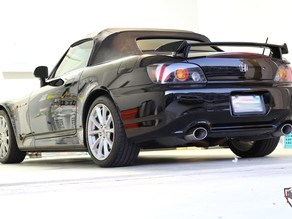 Eye-popping Reflections After Two Step Paint Correction on a Black Honda S2000. Pictures included!