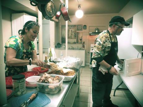 Kitchen Prep Area