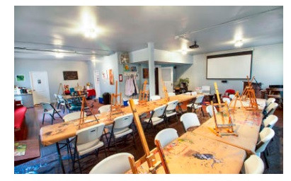 Blue Room (Art Studio & Workshops)