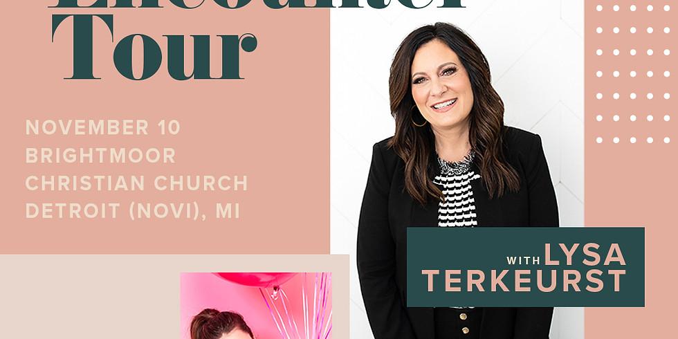 The Encounter Tour with Lysa Terkeurst