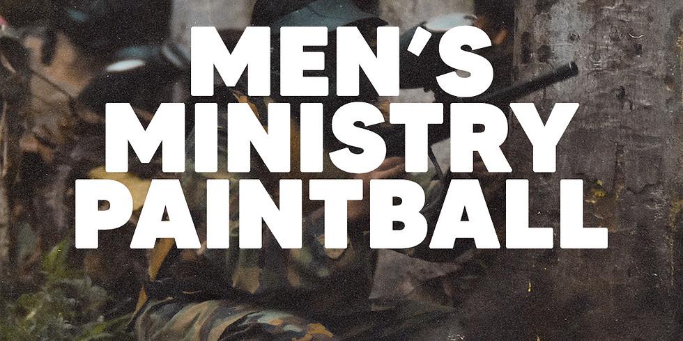 Men's Ministry Paintball