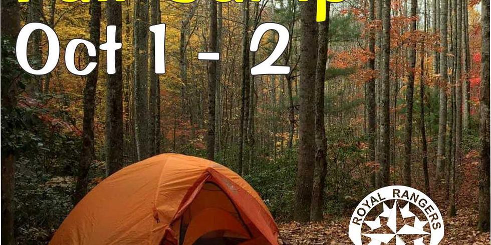 Royal Rangers Fall Camp 2021