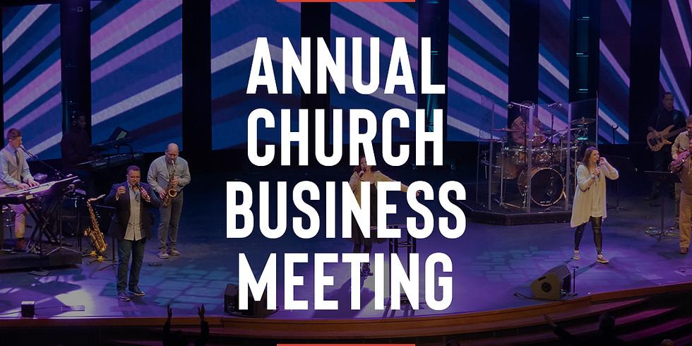 Annual Church Business Meeting