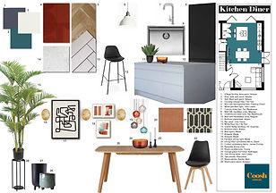 Interior Design Services - Mood Board