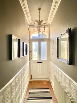 London period home hallway interiors