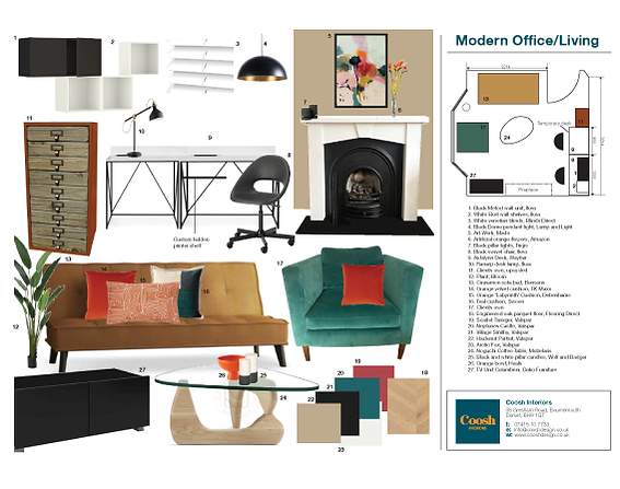 Product Sourcing for Modern Living Room
