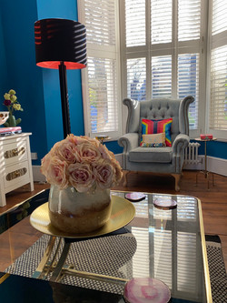 eclectic living room interiors London