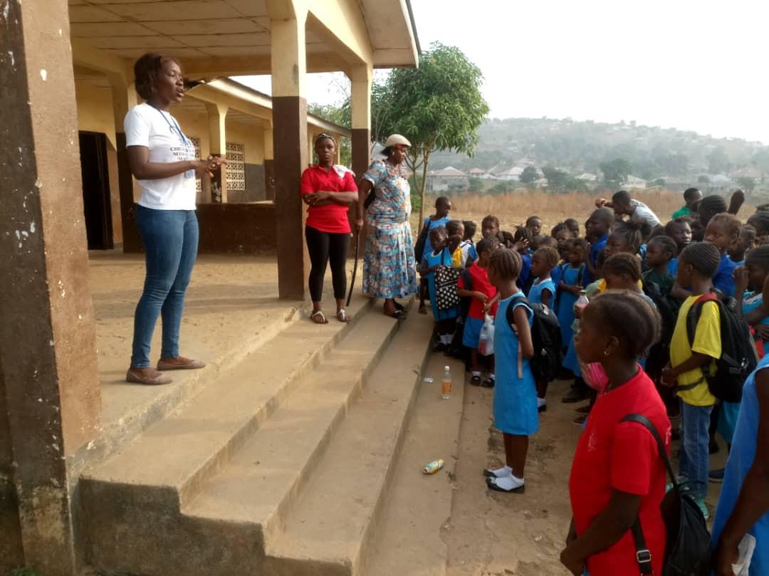 Second school visit