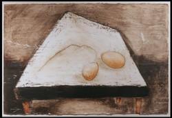 Table w Eggs & Henscratch