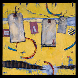 Composition in Yellow