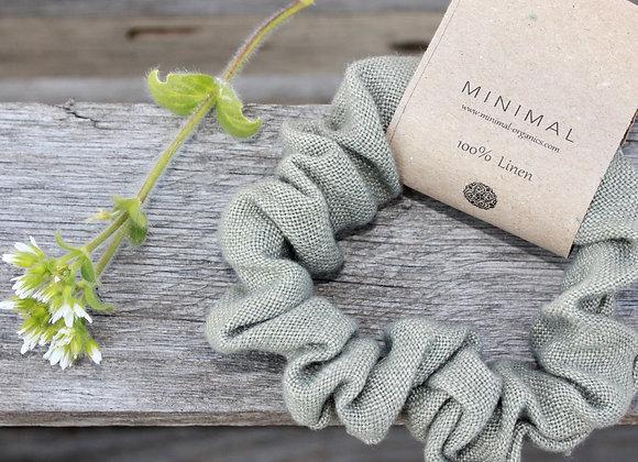 Mini Linen Scrunchies