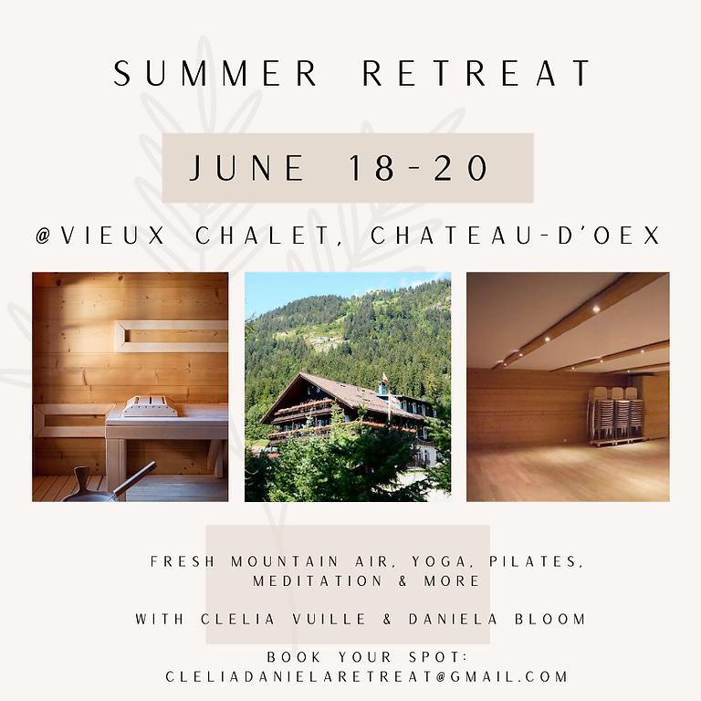 Summer Retreat June 2021
