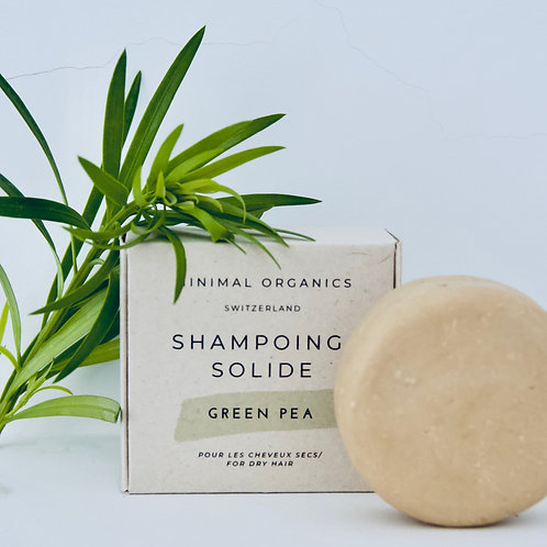 Green Pea solid Shampoo for dry and damaged hair