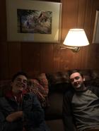 AC Steph Bradli & DoP Alex Tichy BTS of Phosphenes