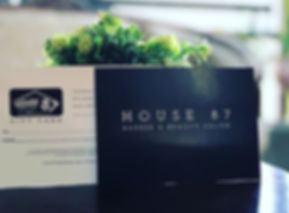 We have news_ HOUSE 87 GIFT CARD_Now it'