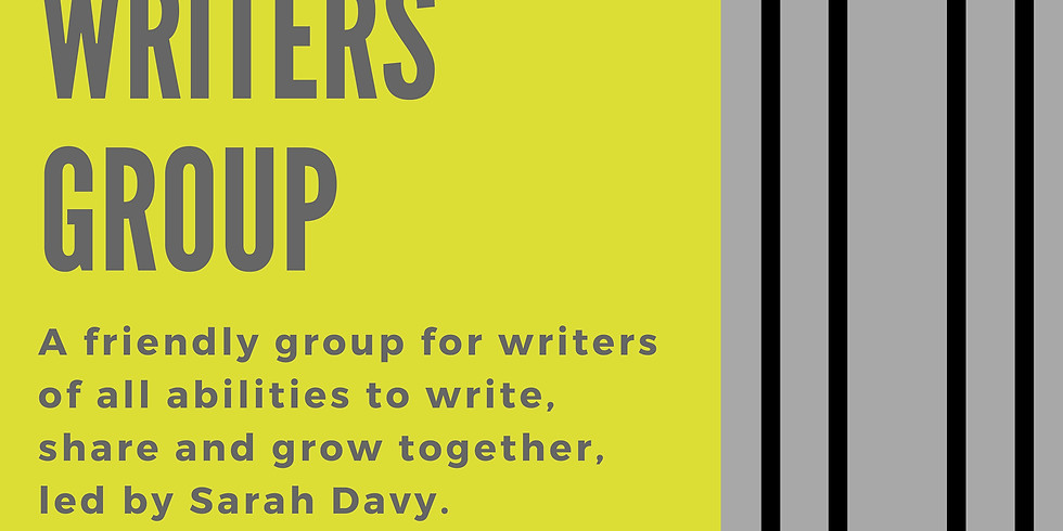 Last Tuesday Writers Group - April