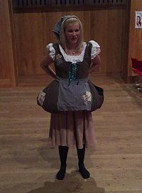 Cinderellla Transformation Dress Costume