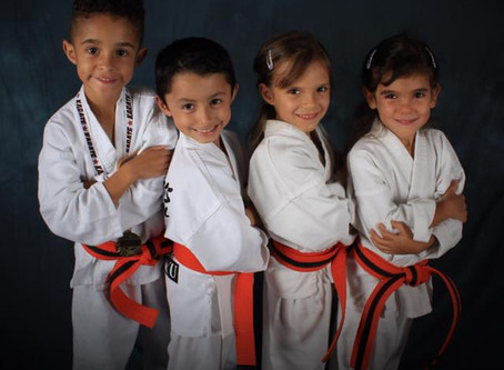 How Karate helps children learn discipline