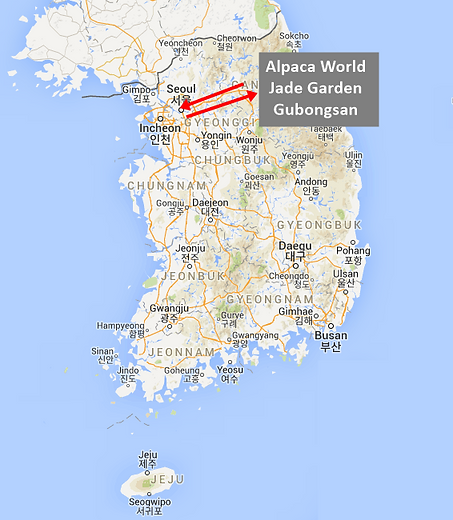 Tour Map-Alpaca world-Jade Garden-Gubong
