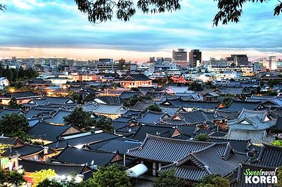 Jeonju Hanok Village-overview