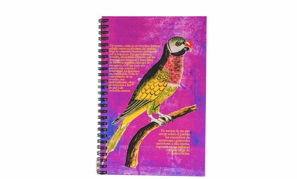 Cuaderno Media Carta La Hojarasca