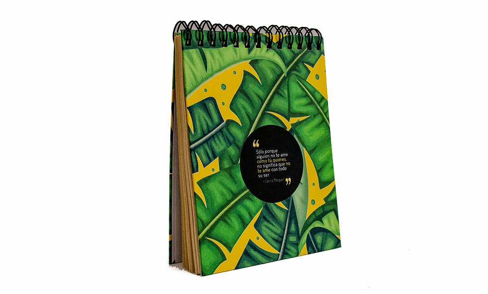 Cuaderno Cuarto de Carta Gabo Frase