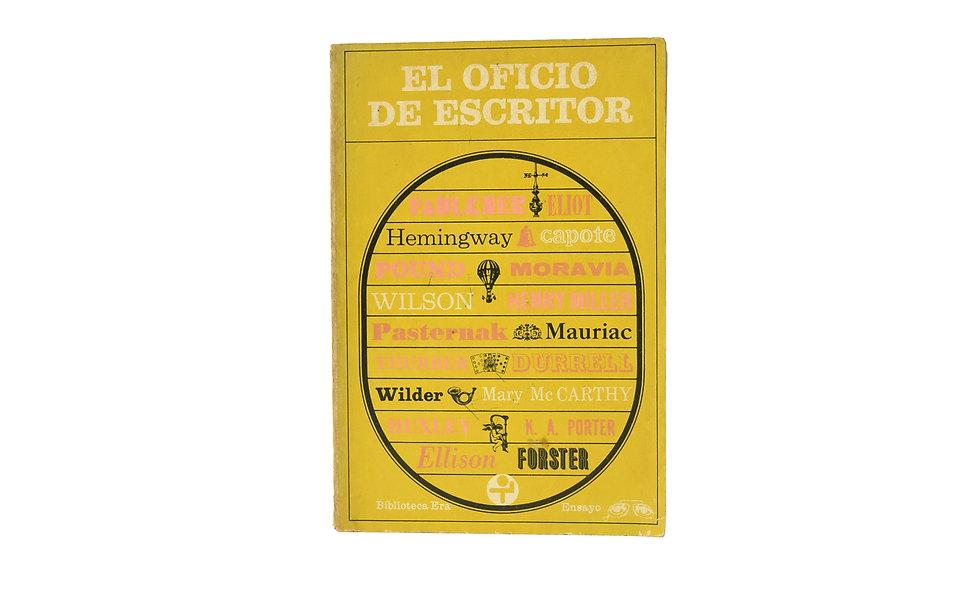EL OFICIO DE ESCRITOR