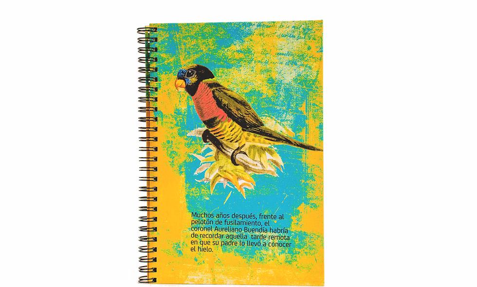 Cuaderno Media Carta Cien Años de Soledad
