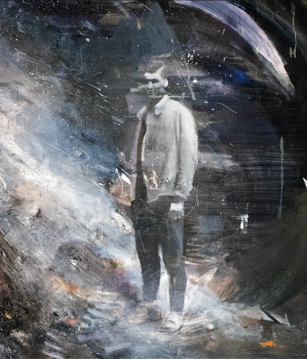 """Detail from """"The Bonfire"""""""