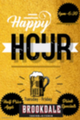 Copy of happy hour bar flyer - Made with