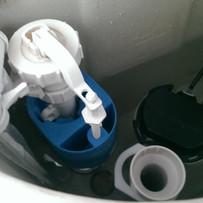 New flush installed