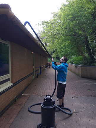 Gutter cleaning, clearing Bristol