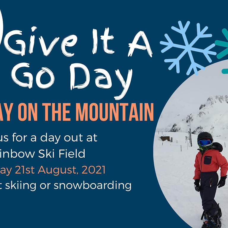 Give It A Go Day - Family Day at the Ski Field
