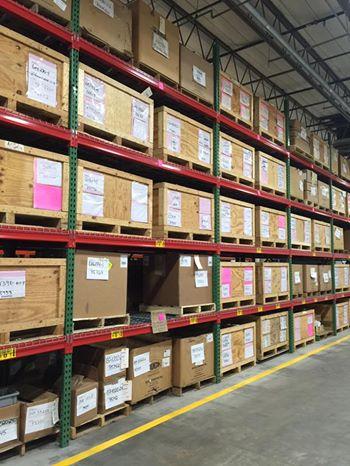 Warehouse Parts Bins