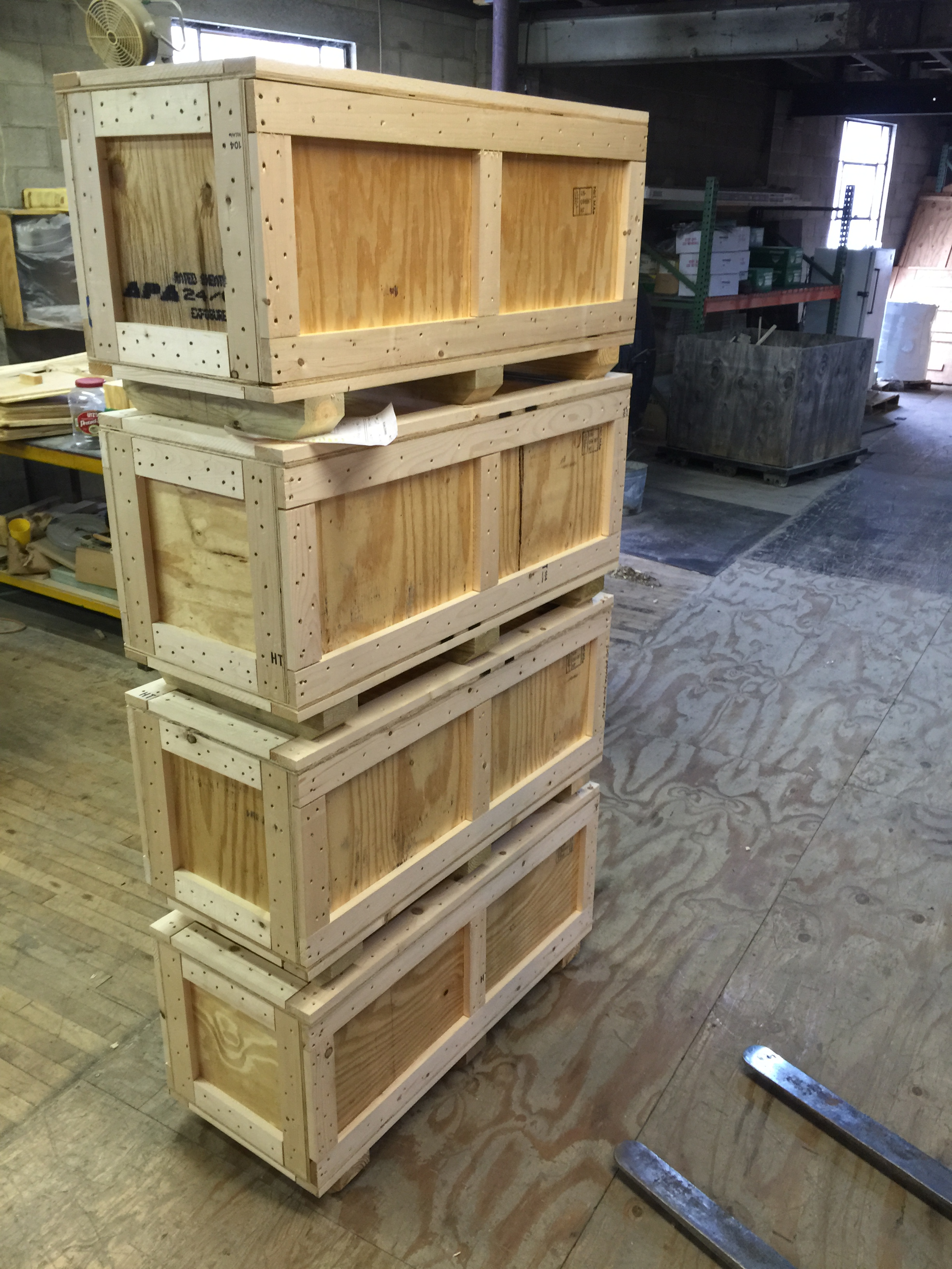 Wood Export Shipping Crates