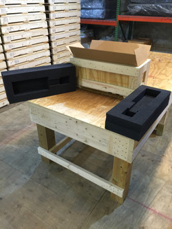 Cleated Plywood Box with Foam Insert