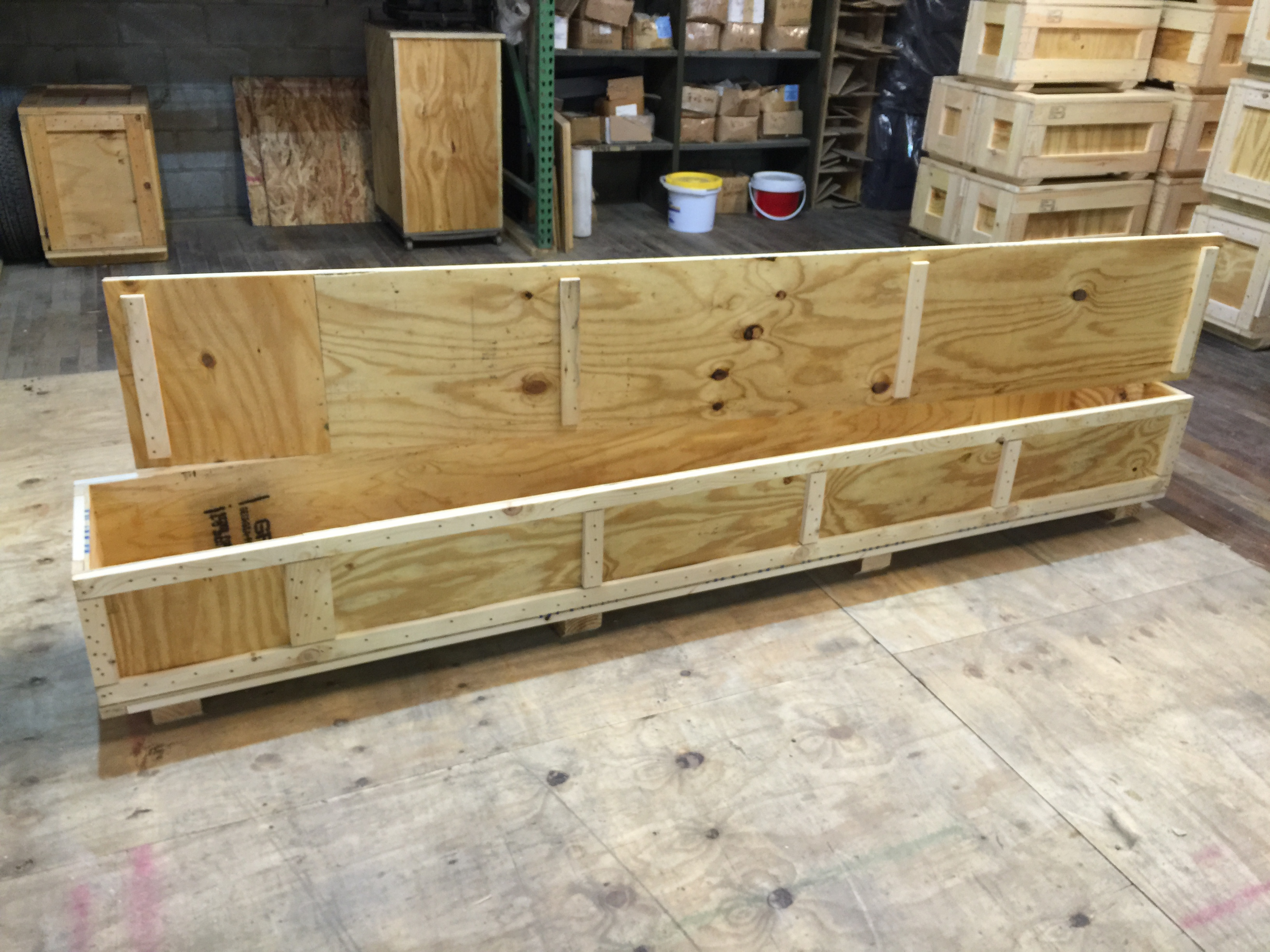 Custom Wood Shipping Crate