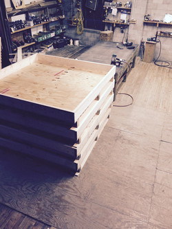 Foam Lined Shipping Crate