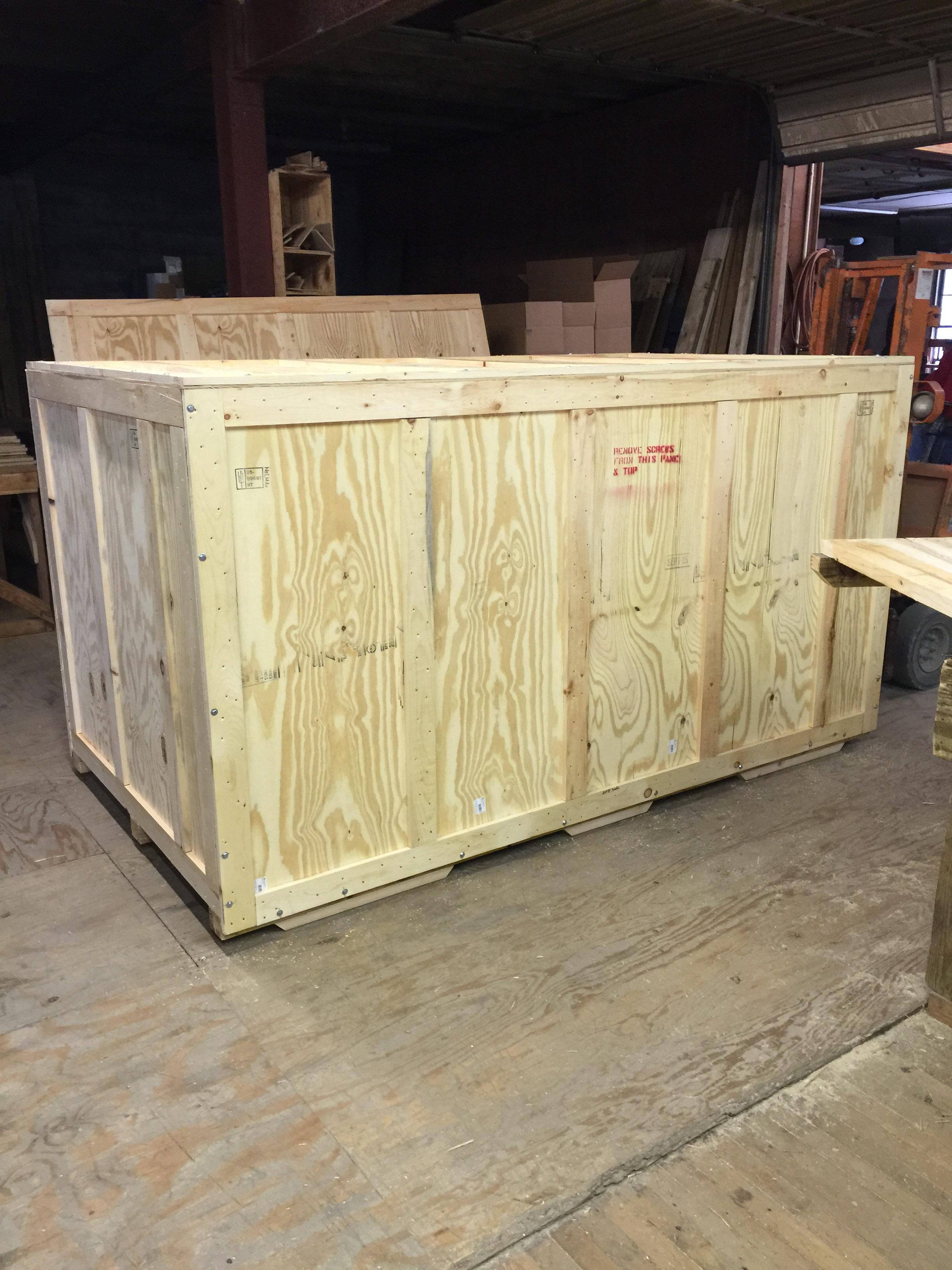 Large Plywood Crate