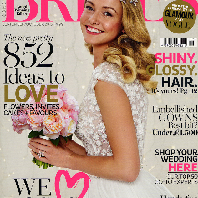 Brides Magazine Sept/Oct 2015