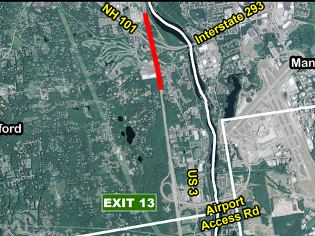 NHDOT:  Widening of the F.E. Everett Turnpike