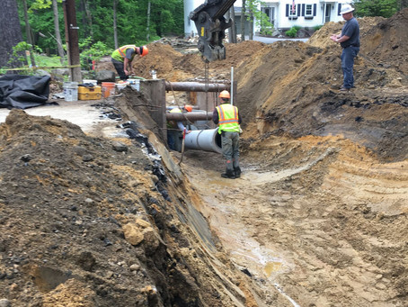 Donald St. and associated Side Streets Natural Gas Extension Project update